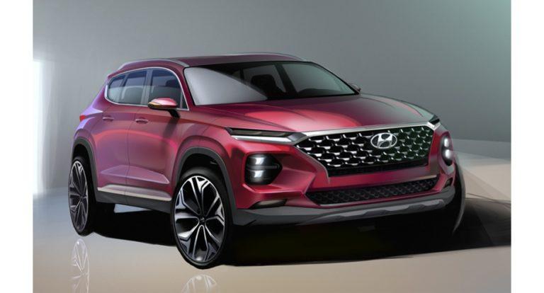 Hyundai odhalil design nového Santa Fe