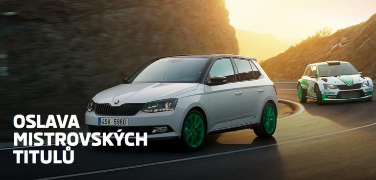 Motorsportem inspirovaná ŠKODA FABIA Edition R5 vstupuje na český trh